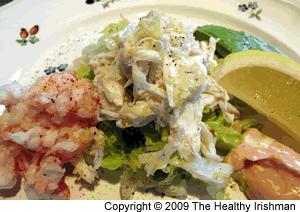 Crab & Prawn Salad with Mary Rose Sauce