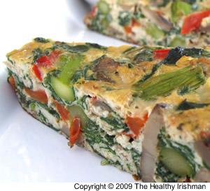 Spring Veg Frittata as they can be made ahead of time.