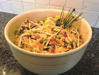 Indonesian Rice Salad EX