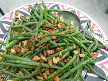 Green beans, runner beans, french beans or fagiolini — they are in-season on our farm!