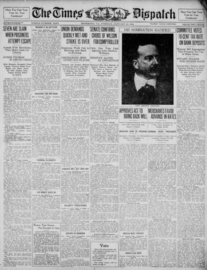 Virginia Times Dispatch 1914