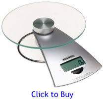 Click here to buy the Soehnle 66522 Futura Digital Food Scale