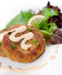 The best crab cakes!