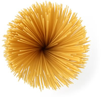 Cooking pasta is simple.